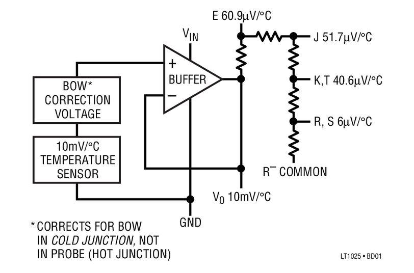k type thermocouple circuit diagram how to build a thermocouple amplifier hackaday  how to build a thermocouple amplifier