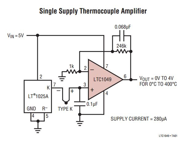 How To Build A Thermocouple Amplifier | Hackaday