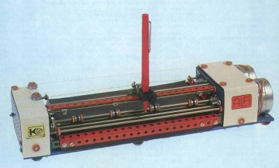 A plotter made from Merkur. Image from merkurtoys.cz