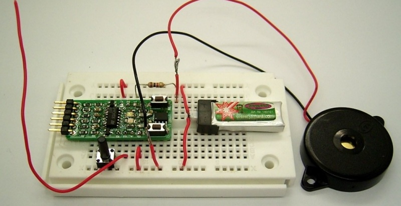 Using An LED As A Simple RF Detector | Hackaday
