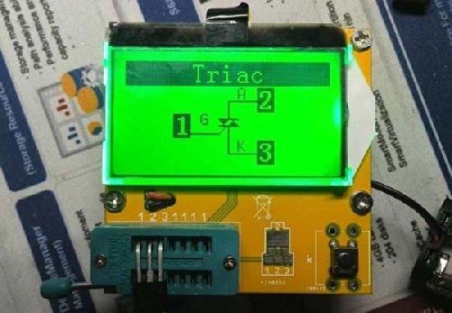 LCD ESR Meter Transistor Tester Capacitance Inductance Diode Triode MOS NPN PNP
