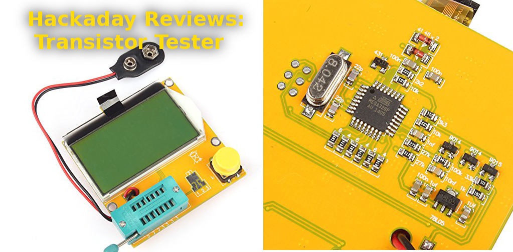 review transistor tester hackadayreview transistor tester