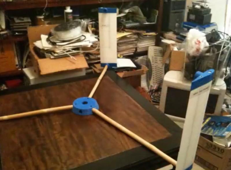 3D Printed Wind Turbine Uses Bamboo | Hackaday
