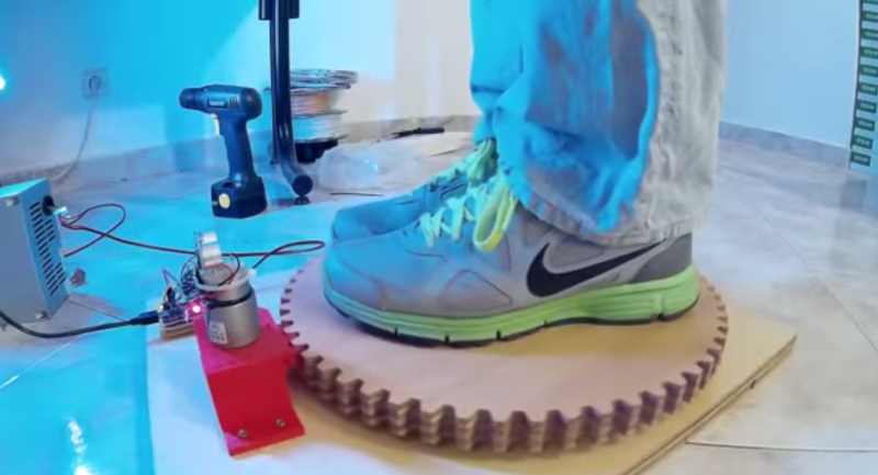 3D Scanning Rotary Table