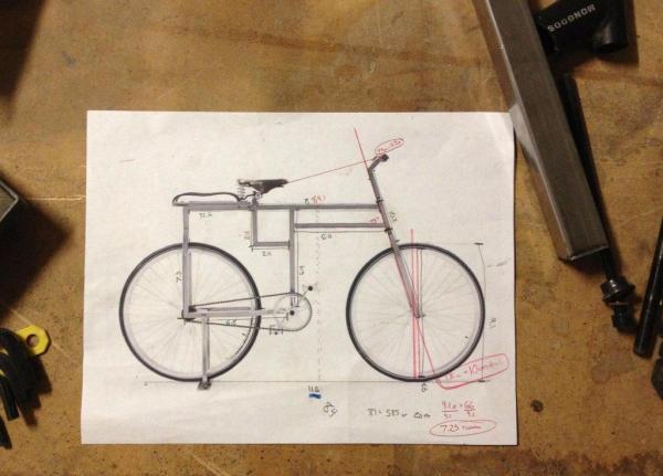 Square Bicycle Design