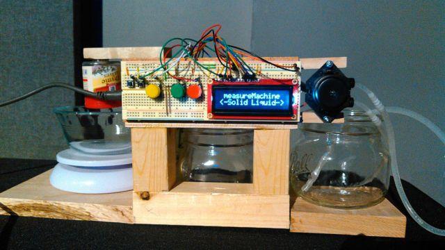 Arduino-Based Dispenser Delivers Liquids, Powders