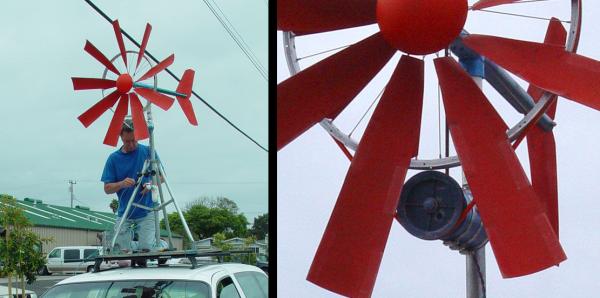 bike wheel wind turbine