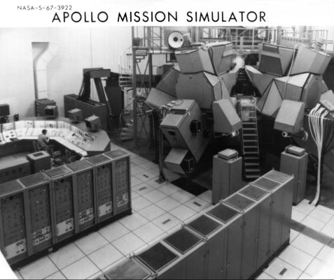 Apollo mission simulator.