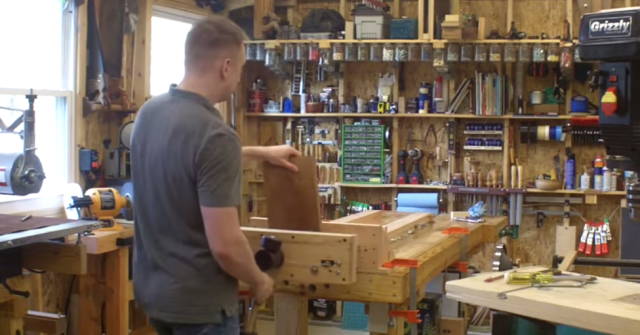 Tremendous New Cable Based Vise Improves Woodworking Workshop Hackaday Andrewgaddart Wooden Chair Designs For Living Room Andrewgaddartcom