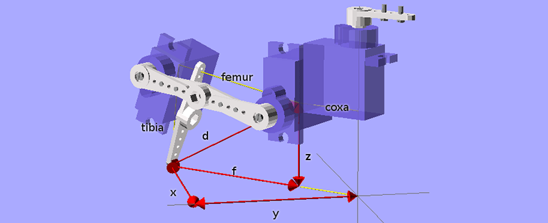 The Simplest Quadrupedal Robot Ever | Hackaday