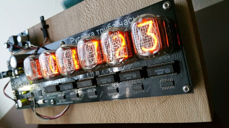 Nixie Clock Uses Ingenious Software RTC | Hackaday
