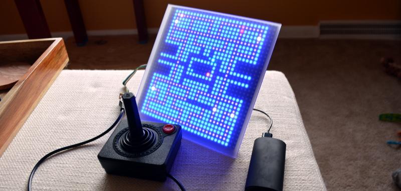 1-Pixel Pacman | Hackaday