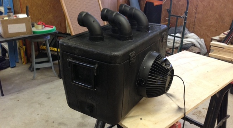 DIY AC For The Hot Shop | Hackaday