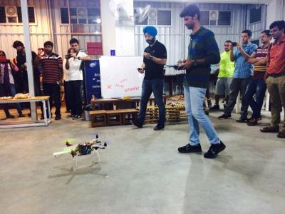 Drone demo, for collision avoidance
