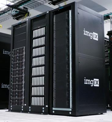 3 racks - Linux. Mac Min, Mac Pro