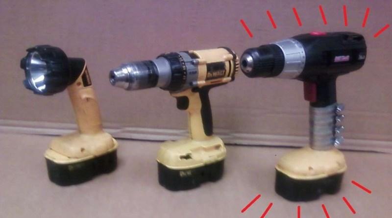 drill battery retrofit
