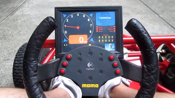 Electric Go Kart has More Features than a Tesla