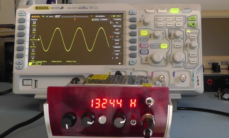 Build Your Own Function Generator | Hackaday