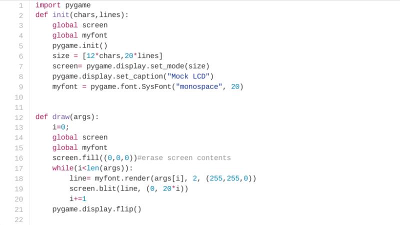 Virtual LCD Using Python | Hackaday