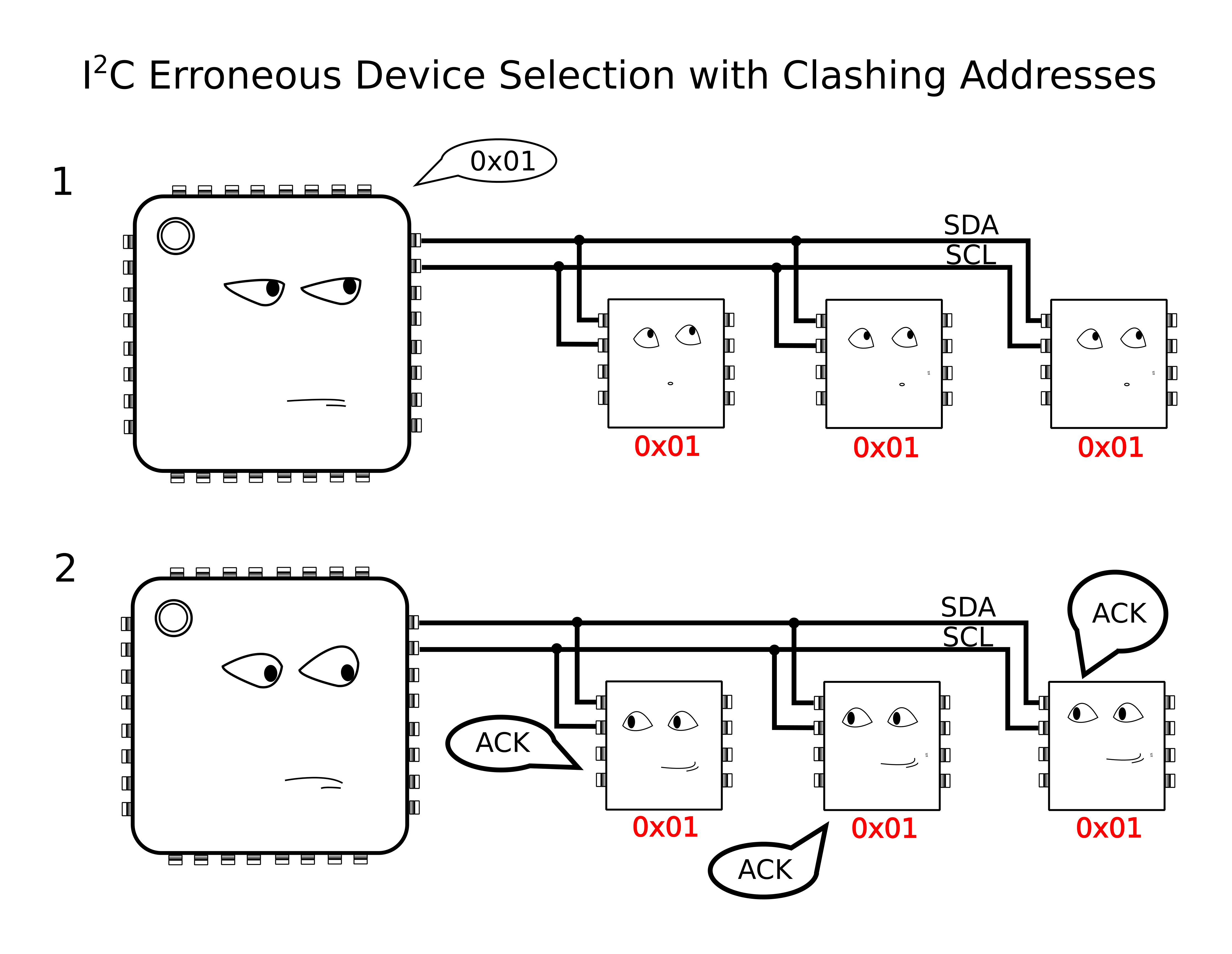 I2C Hacks: How To Splice Clocks Into Chip-Selects | Hackaday