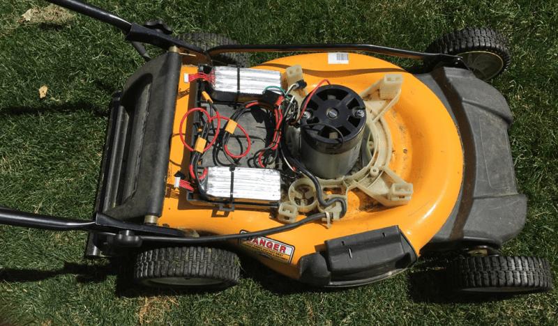 Upgraded LiPo Lawnmower Now Has Plenty Of Juice | Hackaday