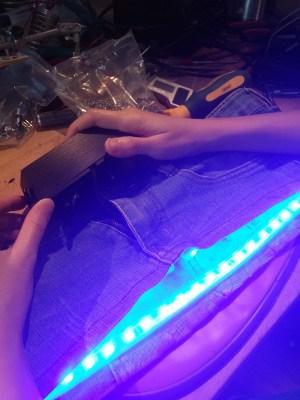 Making a Glowing Skirt