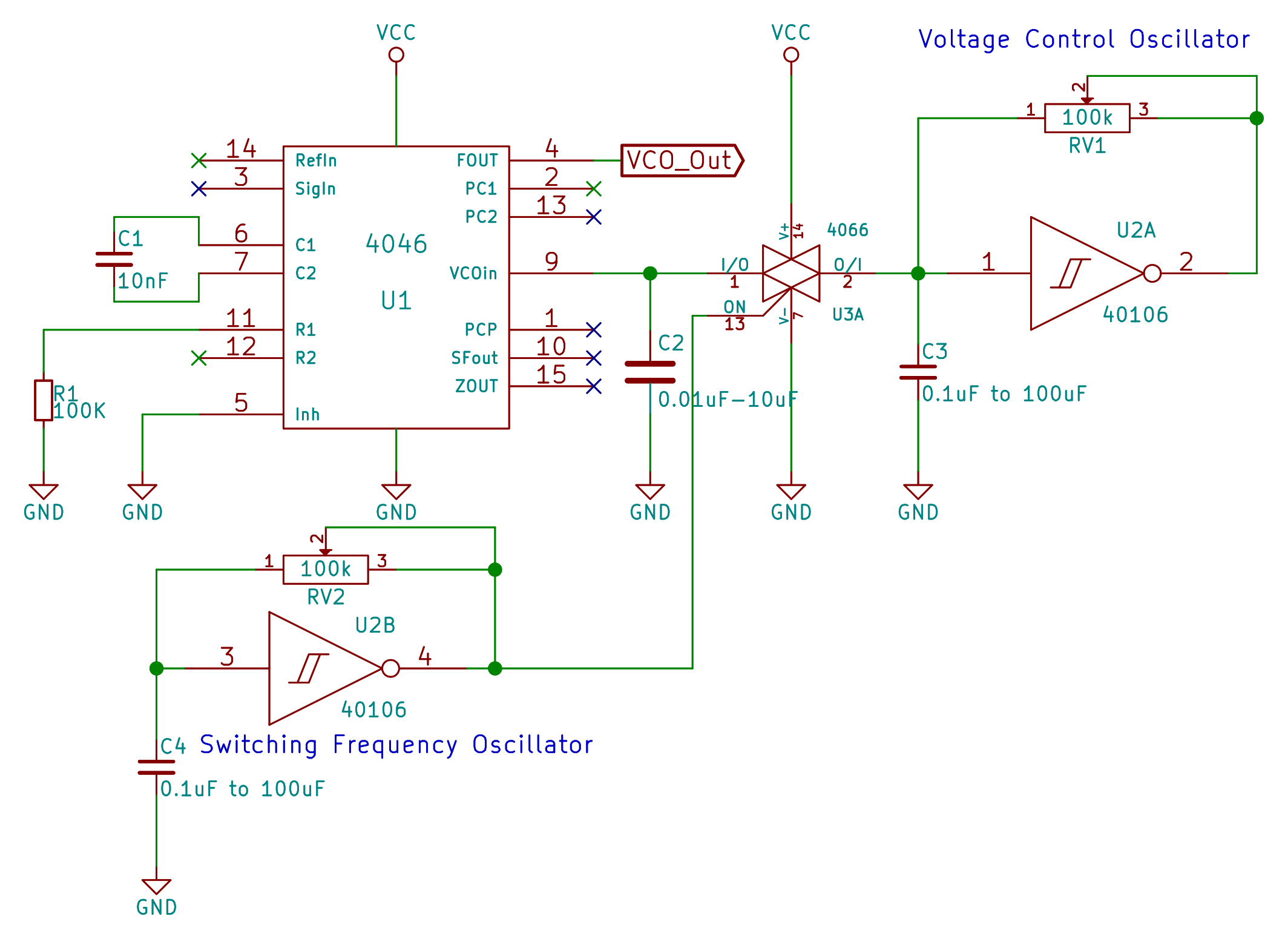 Astounding Logic Noise 4046 Voltage Controlled Oscillator Part One Hackaday Wiring Digital Resources Funapmognl