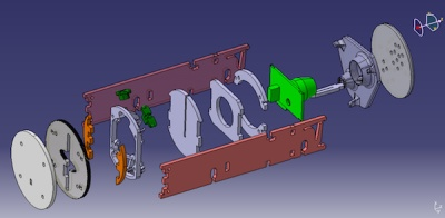 Exploded CAD View