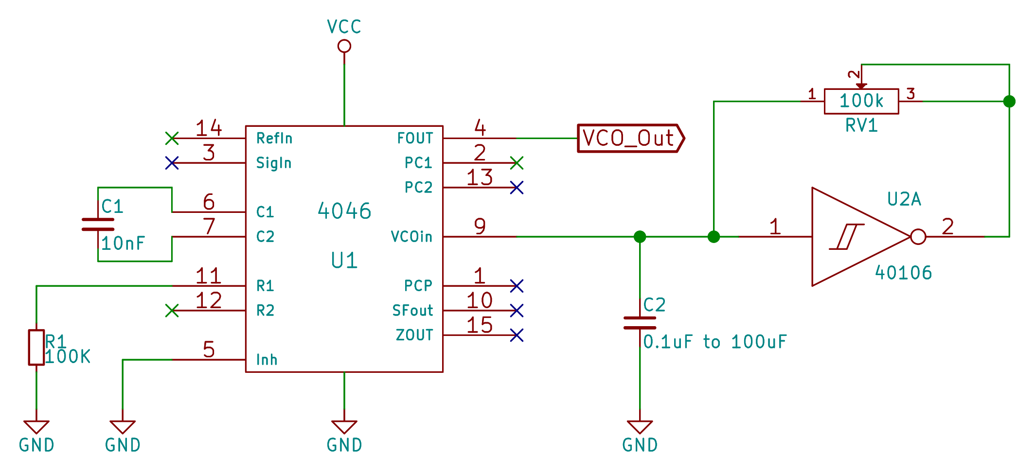 Logic Noise: 4046 Voltage-Controlled Oscillator, Part One