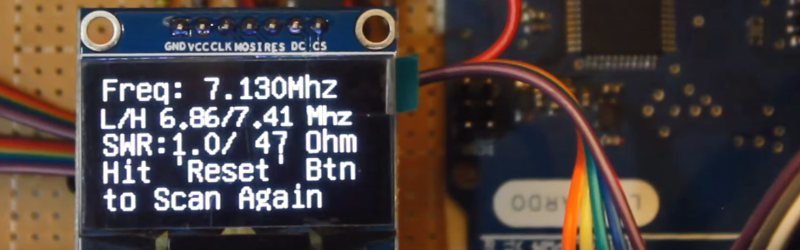 $40 Antenna Analyzer With Arduino And AD9850 | Hackaday