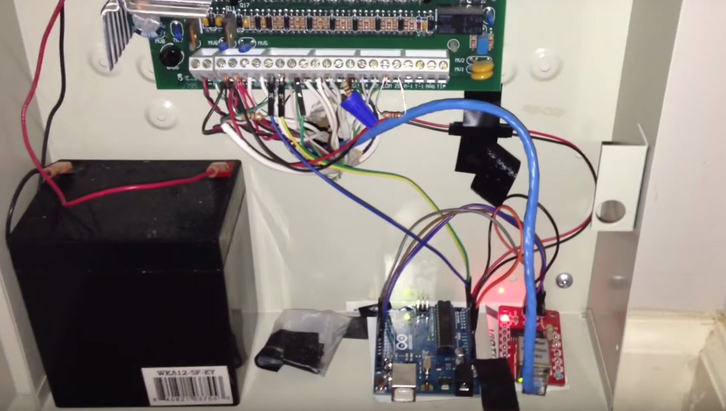 Upgrading Your Alarm System With An Arduino   aday on
