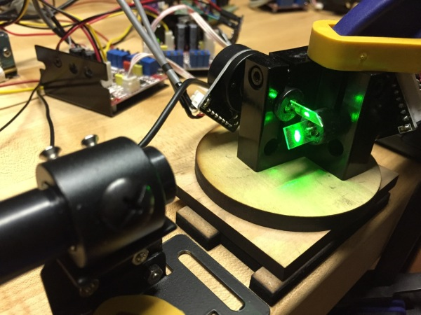 Building An Automated Laser Turret Targeting System | Hackaday