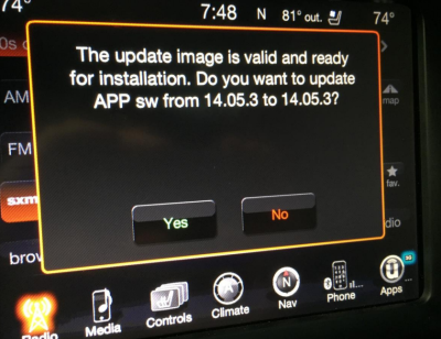 Exploits, like [Charlie Miller]'s hack of the on-board entertainment system in a Jeep Cherokee presented at DEF CON this year, will hopefully be impossible through V2V communications