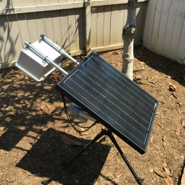 Two-Axis Solar Tracker | Hackaday