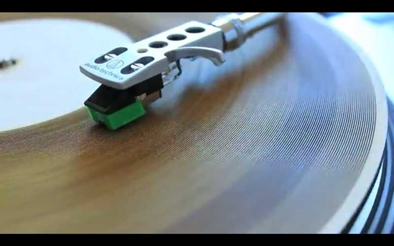 Laser Cut Your Own Vinyl Records | Hackaday