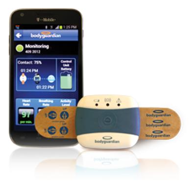Preventice Cardiac Sensor