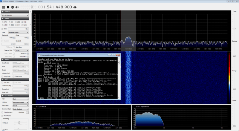 Decoding Satellite-based Text Messages With RTL-SDR And