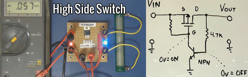 Learn And Build A High Side Switch | Hackaday