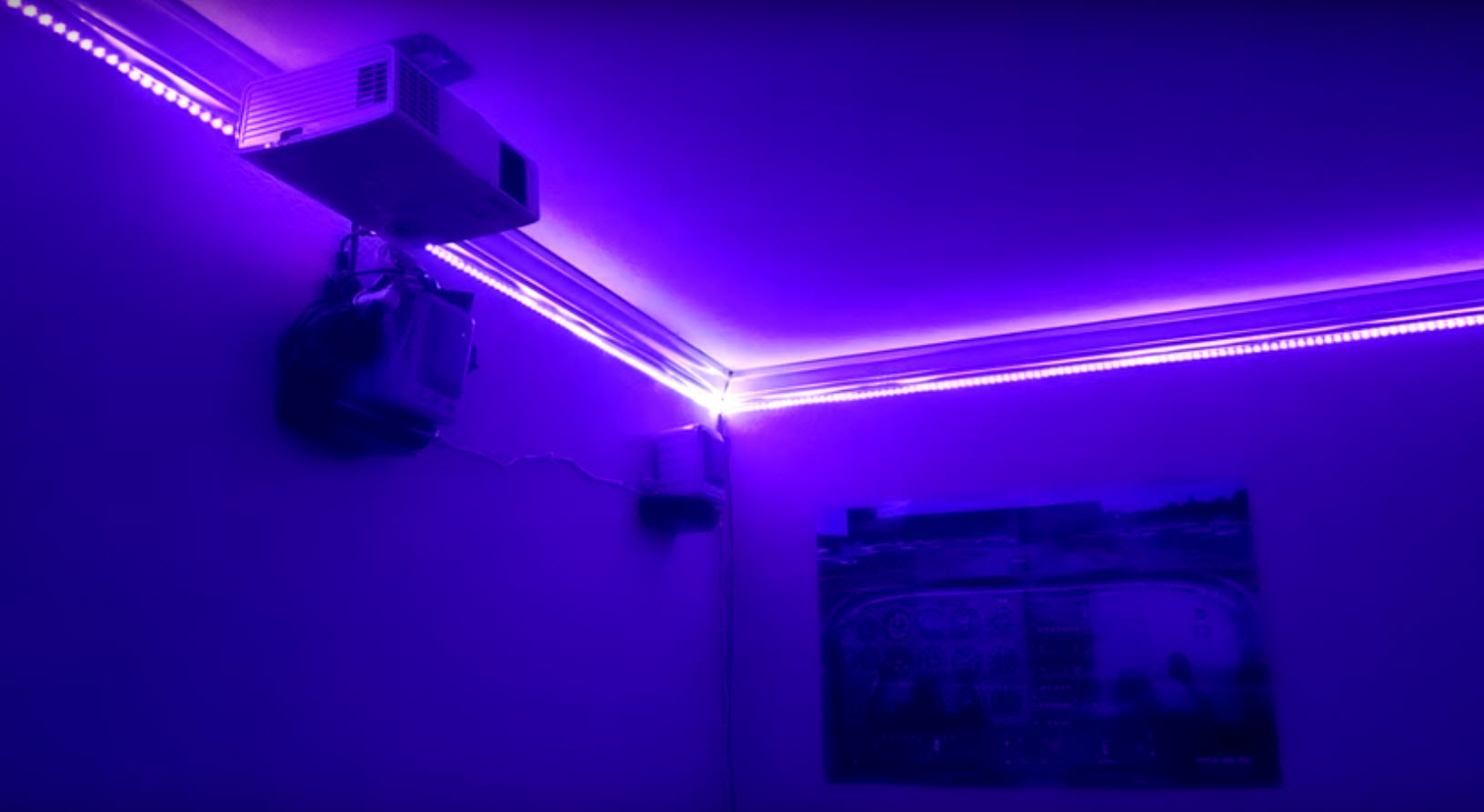 A Thousand Led Lights For Your Room Hackaday
