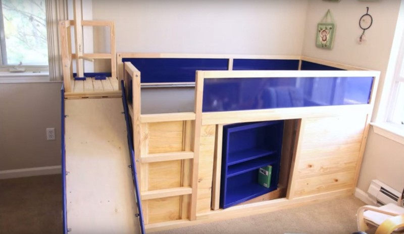 Building The Ultimate Ikea Bed Hackaday