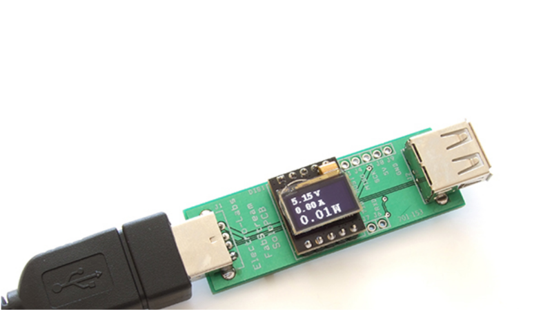 Simple USB Power Meter | Hackaday