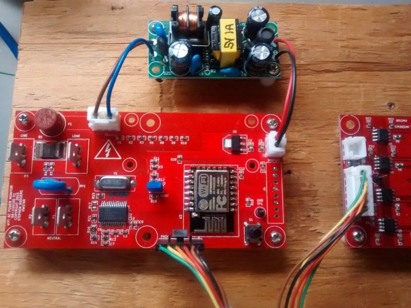 WiFi Power Monitor Based on ESP8266