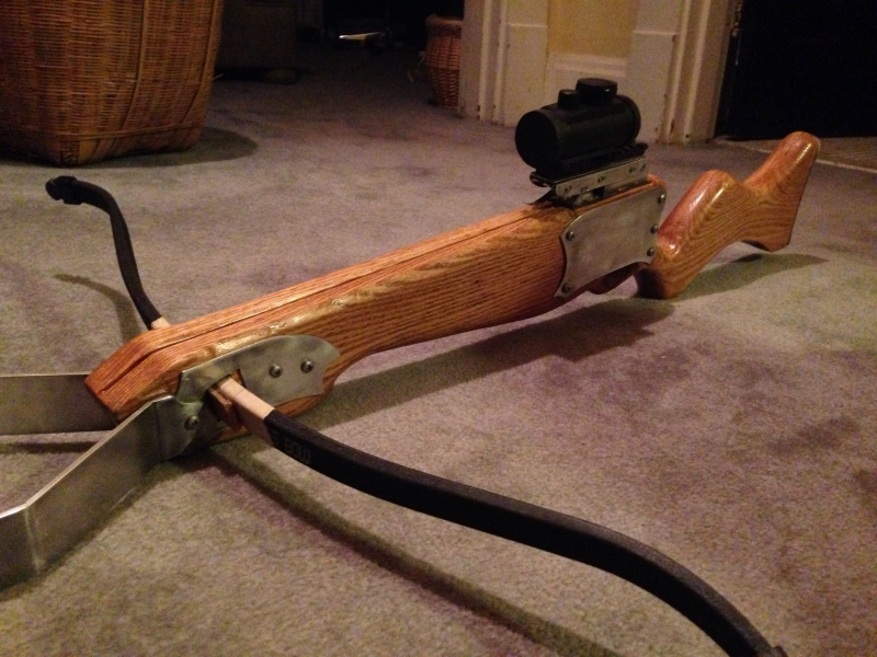Making A Crossbow For The Zombie Apocalypse | Hackaday