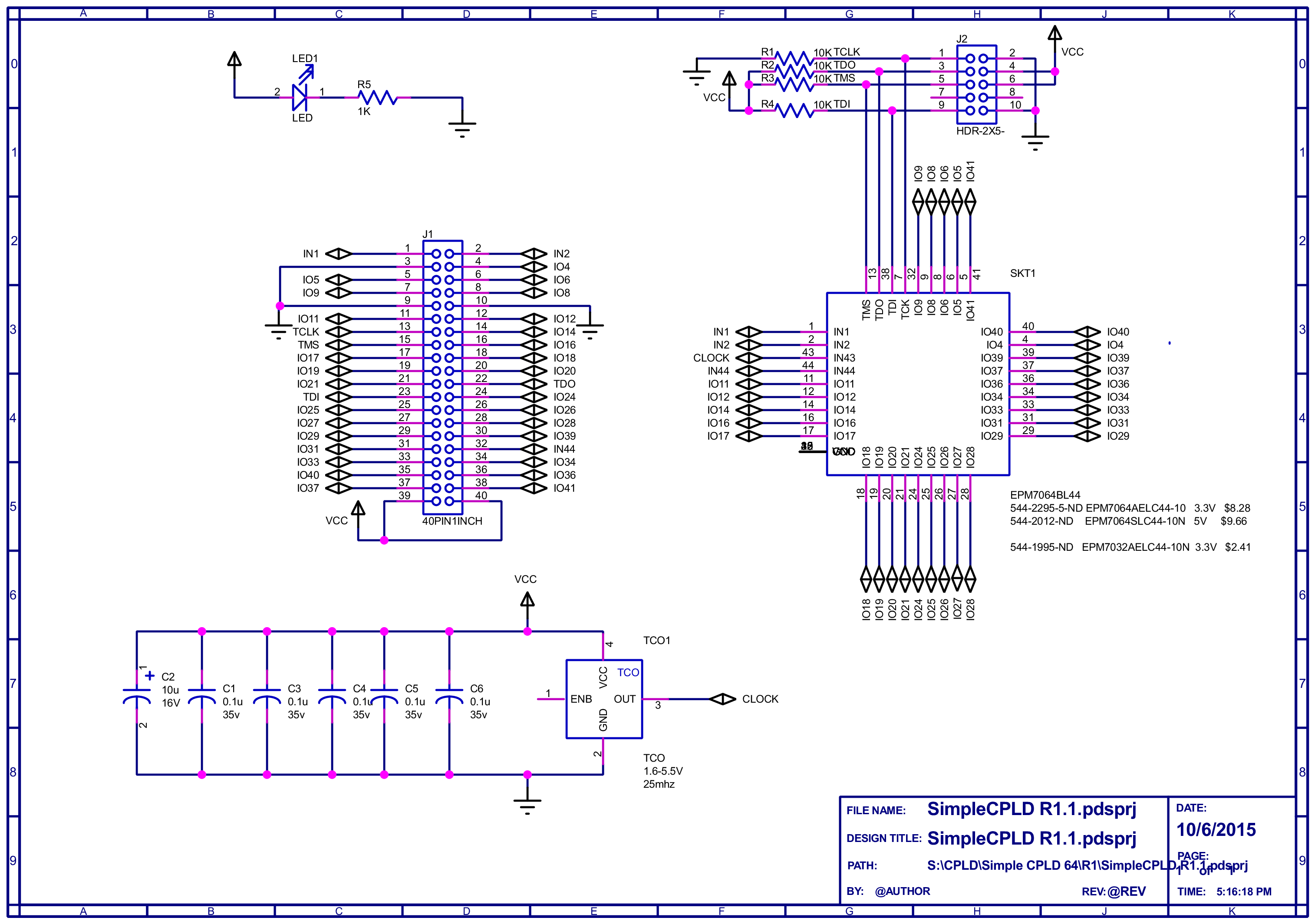 Programmable Logic: Build Yourself A CPLD Module | Hackaday