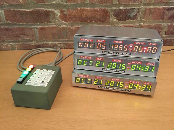 BTTF Alarm Clock