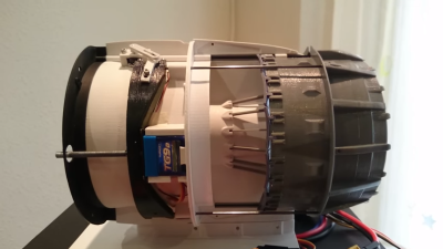 3D Printed Turbofan Features Reverse Thrust | Hackaday