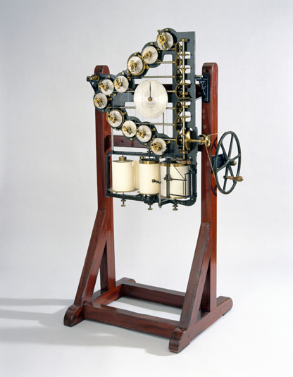 William Thomson/Lord Kelvin's first tide predictor. Image credit: UK Science Museum