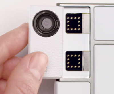 Camera module concept from Project Ara
