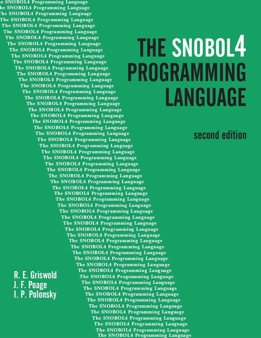 snobol cover