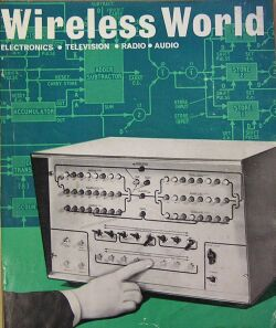 Wirless World Computer from 1967